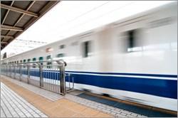 新幹線の通過