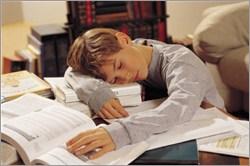 勉強中眠ってしまった